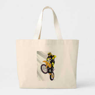 Motocross 401 large tote bag