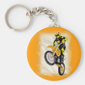Motocross 410 key chain