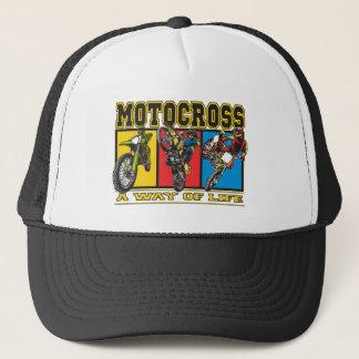 Motocross A Way of Life Cap