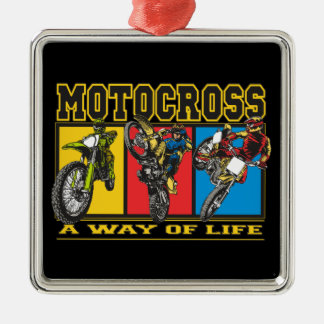 Motocross A Way of Life Christmas Ornament