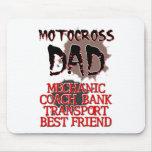 Motocross Dad Dirt Bike Mousepad