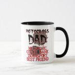 Motocross Dad Dirt Bike Mug