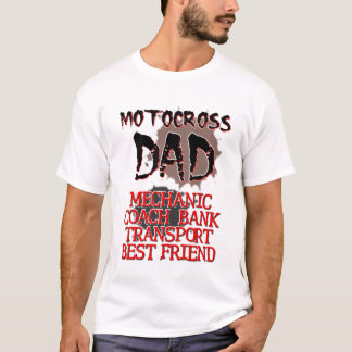 Motocross Dad Dirt Bike T-Shirt