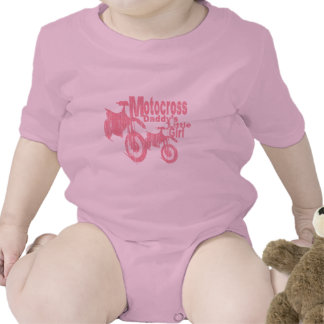 Motocross Daddy's Girl T Shirts