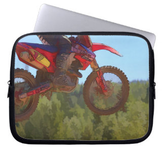 Motocross Dirt-Bike Championship Race Computer Sleeves