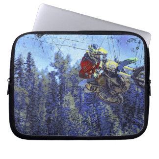 Motocross Dirt-Bike Championship Race Laptop Computer Sleeve