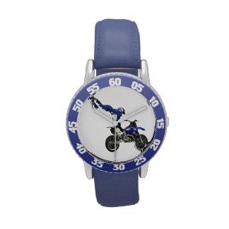 motocross wristwatch