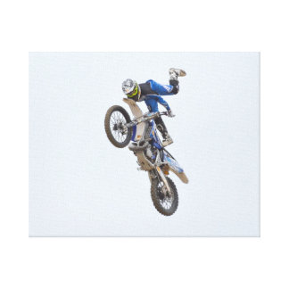 Motocross Extreme Tricks Canvas Print