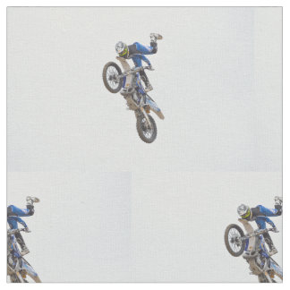 Motocross Extreme Tricks Fabric