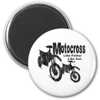 Motocross Father/Son Magnet