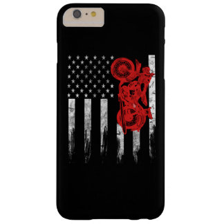 Motocross Flag Barely There iPhone 6 Plus Case