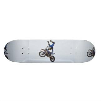 Motocross Flying High Custom Skate Board