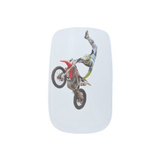 Motocross Freestyle Minx ® Nail Art