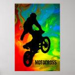 Motocross in Solar meltdown Poster
