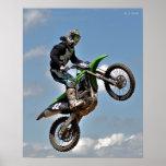 Motocross Jump Print