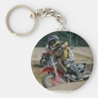 Motocross Key Chain