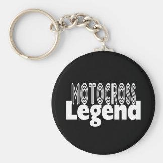 Motocross Legend Key Ring