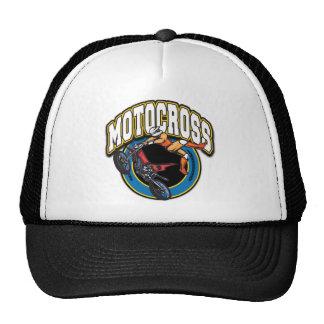 Motocross Logo Trucker Hats