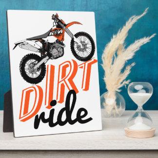 Motocross madness photo plaque