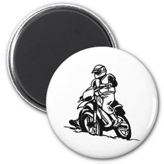 Motocross Motorcycle Magnet