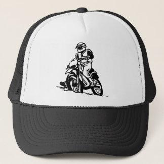 Motocross Motorcycle Trucker Hat