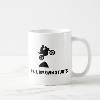 Motocross Basic White Mug