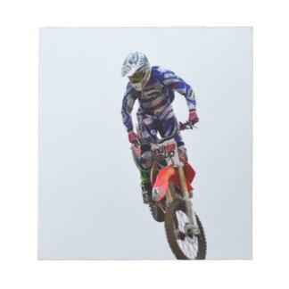 Motocross Notepad