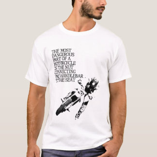 Motocross Nut Dirt Bike Funny T-Shirt Humor