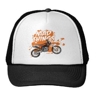 Motocross race trucker hat