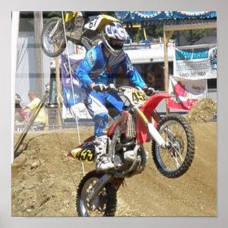 Motocross Race Poster