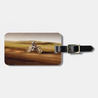 Motocross Rider 2 Luggage Tag