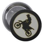 Motocross Rider Button