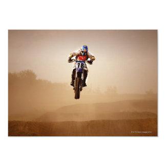 Motocross Rider Card