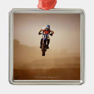 Motocross Rider Christmas Ornament