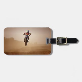 Motocross Rider Tags For Bags