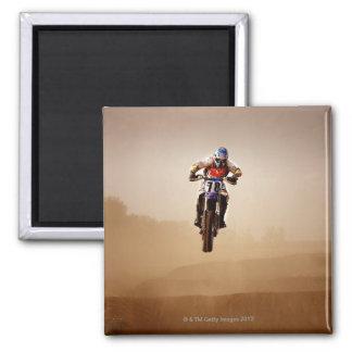 Motocross Rider Magnet