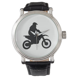 Motocross Silhouette Watch