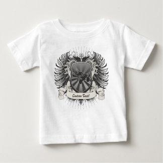 Motocross Stunt Crest Baby T-Shirt