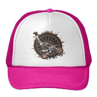 Motocross Stunt Mesh Hat