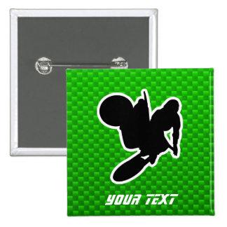 Motocross Whip 15 Cm Square Badge