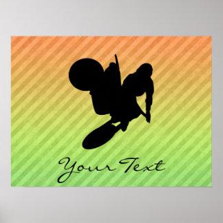 Motocross Whip Poster