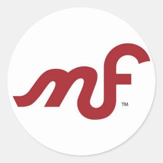 MotoFemina MF Logo Sticker