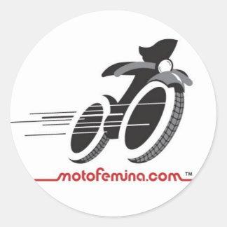 MotoFemina Stickers