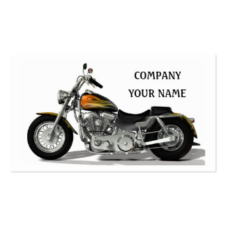 Motor Bike Business Card Templates