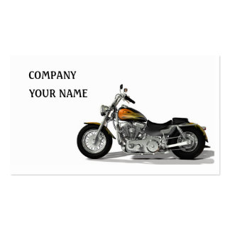 Motor Bike Business Cards