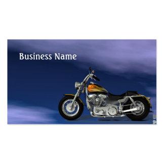 Motor Bike Pack Of Standard Business Cards