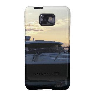 Motor Boat At Dusk Galaxy SII Cover