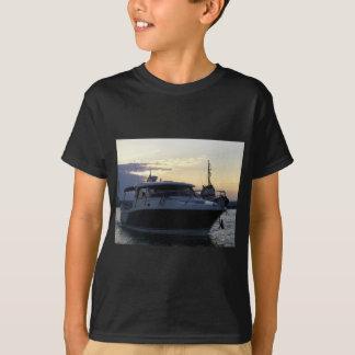 Motor Boat At Dusk T-Shirt