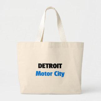 Motor City Detroit Jumbo Tote Bag