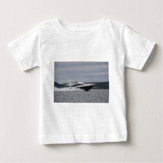 Motor cruiser at speed. baby T-Shirt